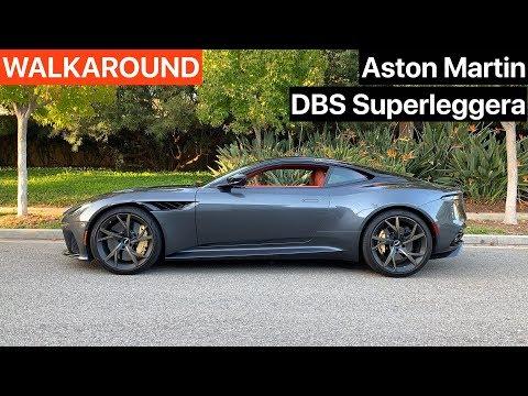 Aston Martin Dbs Superleggera Walkaround Sound No Talking Youtube