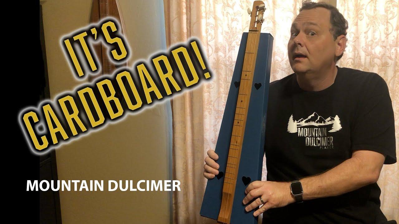 Cardbord Dulcimer Kit Review