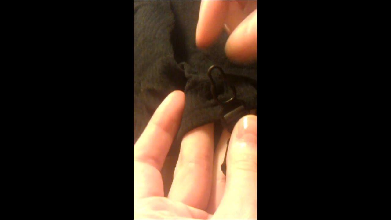 941fec114d9 How to close garter (stockings) belt suspender - YouTube