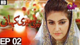 teri-meri-kahani---episode-2-a-plus-drama-agha-ali-hiba-qadir-fahad-rehmani