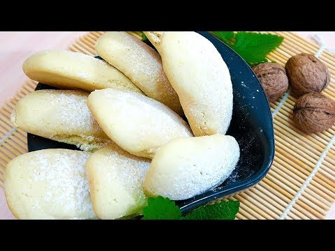 Песочное печенье без сливочного масла Очень рассыпчатое и вкусное