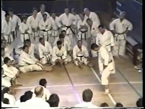 Yoshiharu Osaka Sensei. Exercises for the feet.