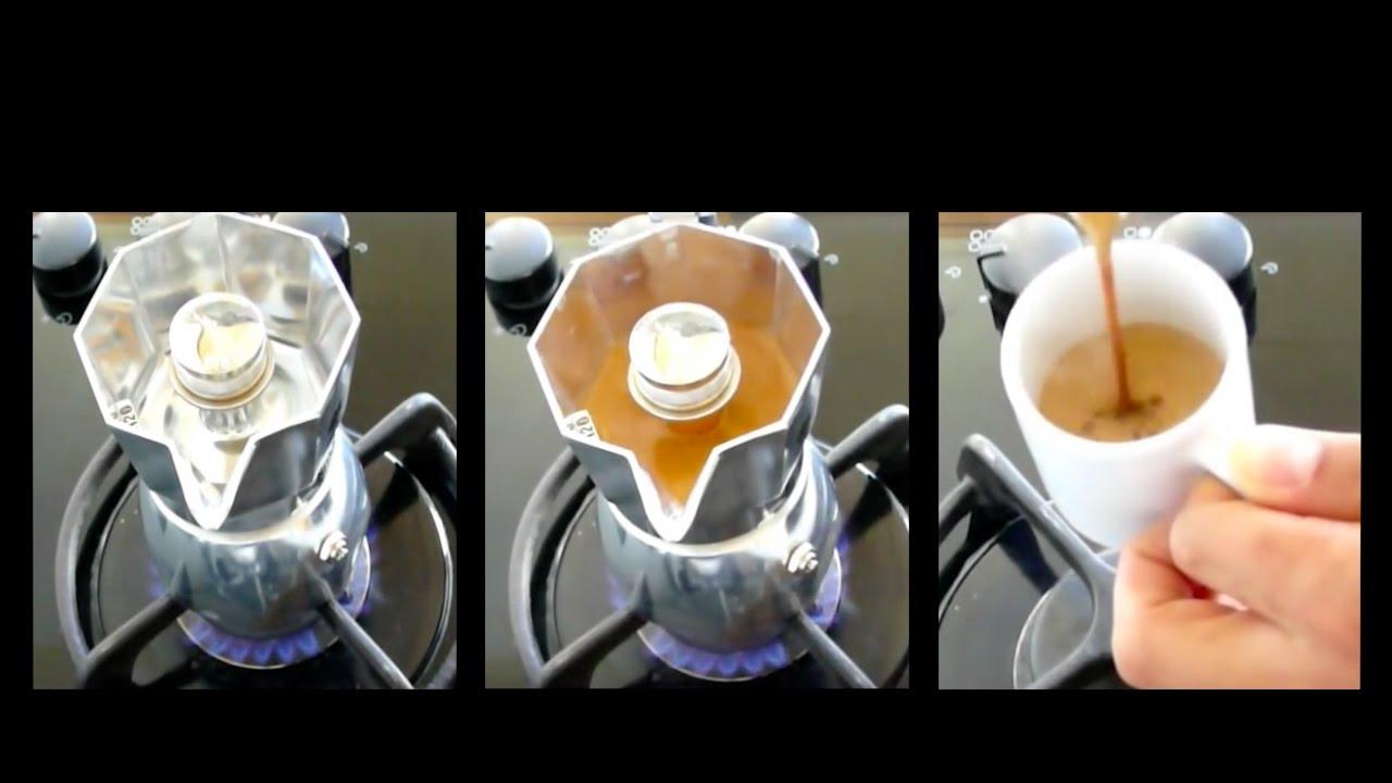 Bialetti Brikka - How to prepare perfect espresso crema. Must see.