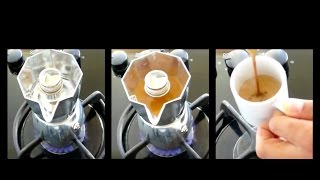 Bialetti Brikka - How to prepare perfect espresso crema. Must see.