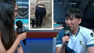 Doublelift Reacts To Cloud9 New Bot And Mid | LOL Streamers Highlights #33