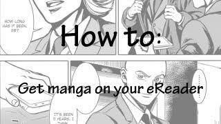 How to - Get manga on your eReader (Manga to epub)