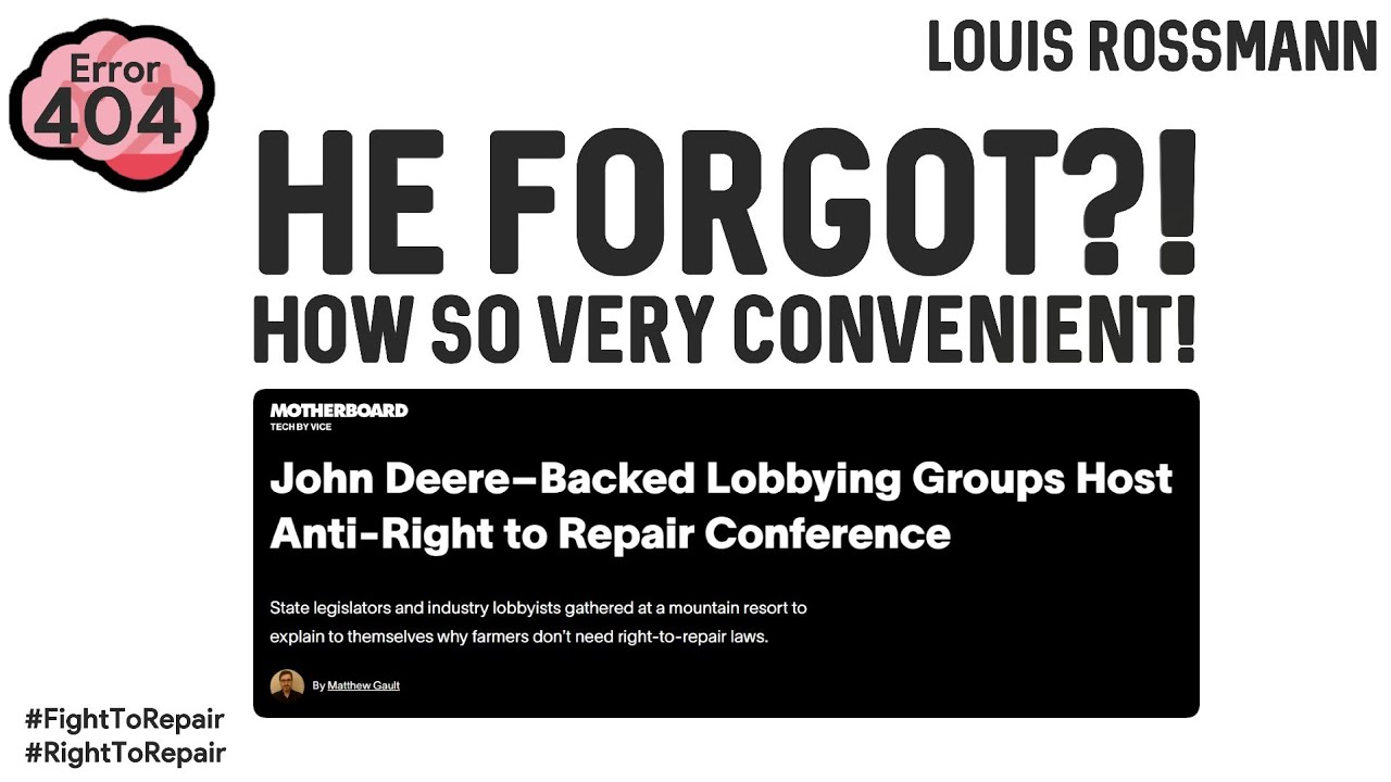 Download Senator FORGETS his own bill after meeting with lobbyists. SERIOUSLY?