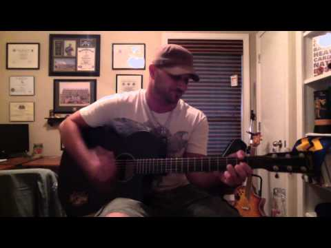 Where The Stars And Stripes And The Eagle Fly-Aaron Tippin(cover)- Rusty Carder