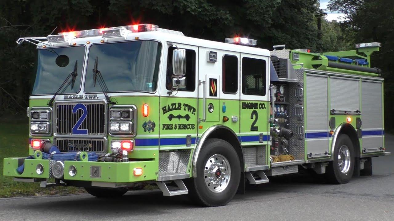 Seagrave Fire Apparatus >> Fire Trucks Responding Compilation 17 Seagrave Fire Apparatus