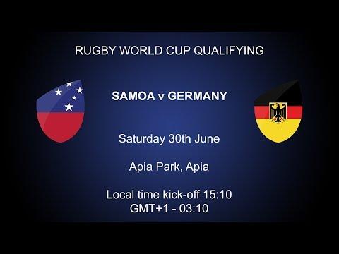 Rugby World Cup 2019 Qualifying - Samoa v Germany