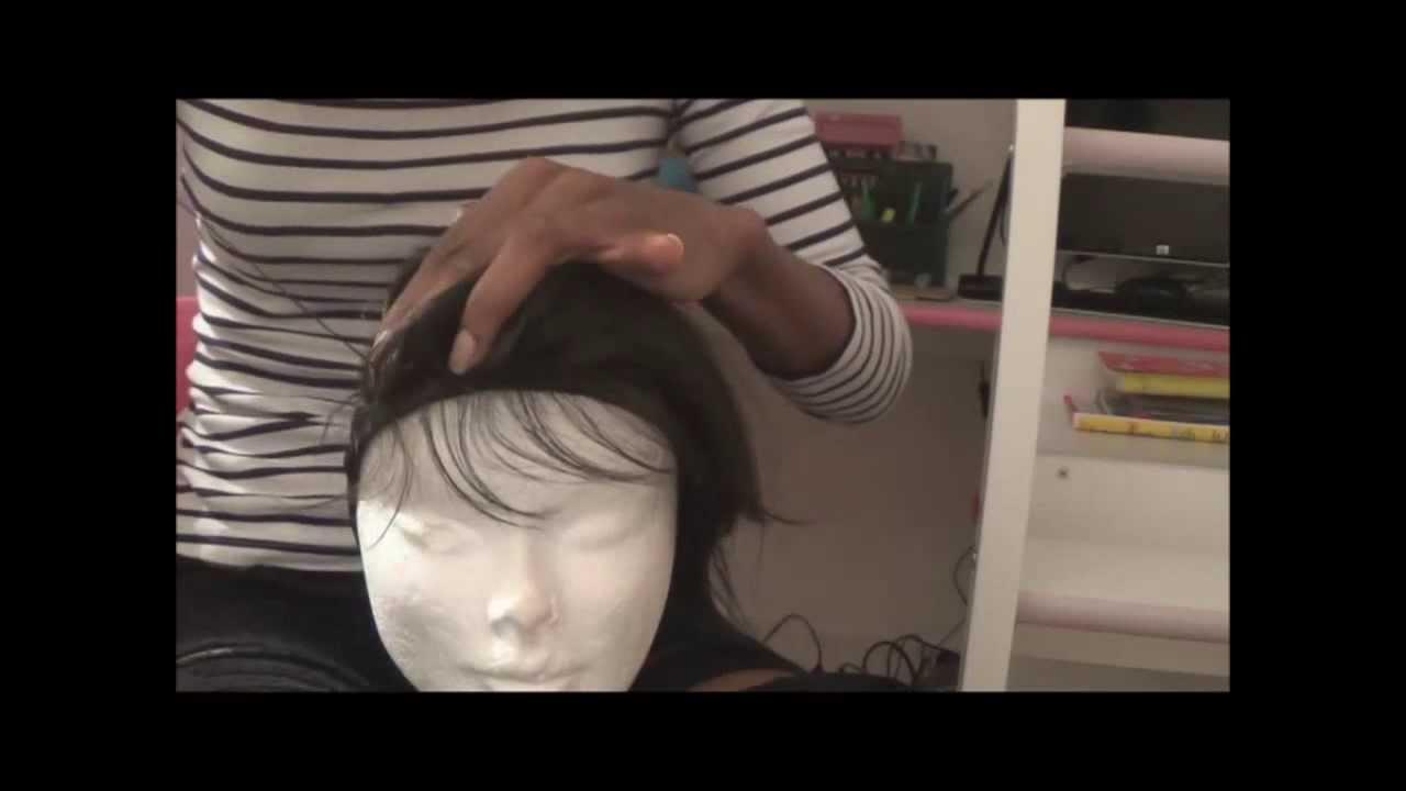 Tuto comment faire une perruque avec closure pour - Comment fabriquer une cloison amovible ...