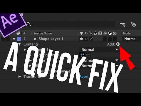 Turning on Switches in After Effects - 2 minute Tuts