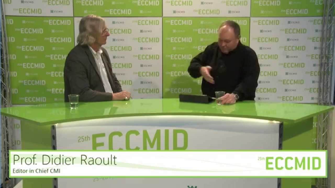 ECCMID 2015 TV - Interview with Prof. Didier Raoult