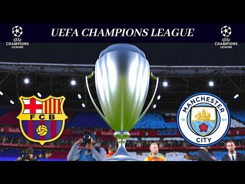PES 2020 - UEFA Champions League Final Barcelona Vs. Man City | Full Match HD