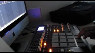 hip hop mpd32 sample beat video