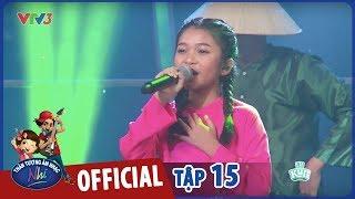 vietnam idol kids 2017 - gala trao giai - thu uyen - em di tren co non