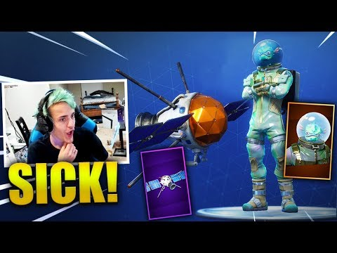 NINJA REACTS *NEW* LEVIATHAN SKIN + PLANETARY PROBE GLIDER - Fortnite Best & Funny Moments
