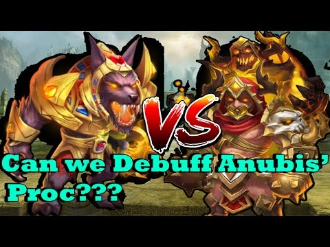 Castle Clash - Anubis VS Grimfiend!!!! Who Will Win? | Can GF Debuff Anubis?