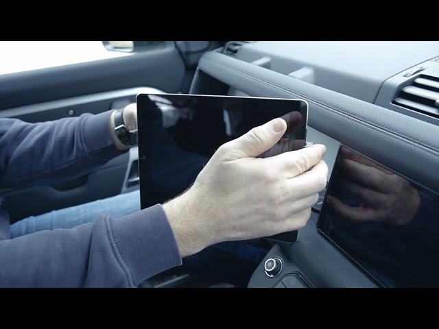 Defender L663 Front Drivers Tablet Mounts