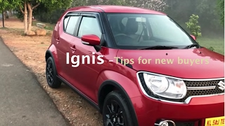 Suzuki Ignis -  tips for new buyers
