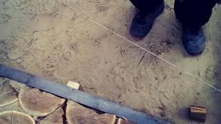 видео Садовые дорожки из дерева своими руками