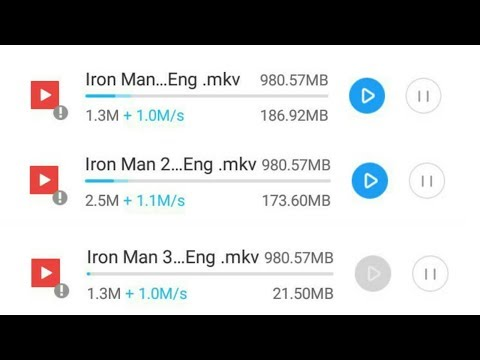 Iron man movie all part in Hindi Download...