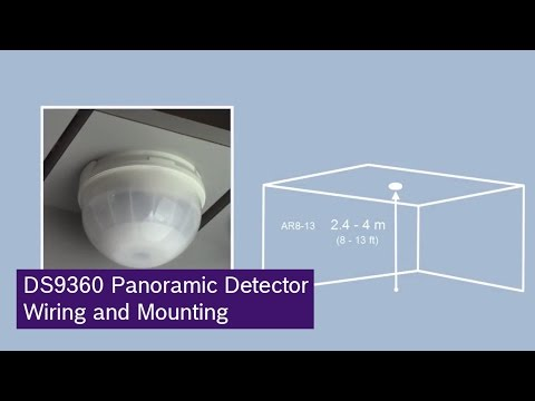 Bosch Ds9360 Panoramic Detector Wiring And Mounting