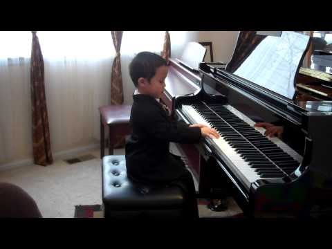 Piano Minuet in G Major by JS Bach