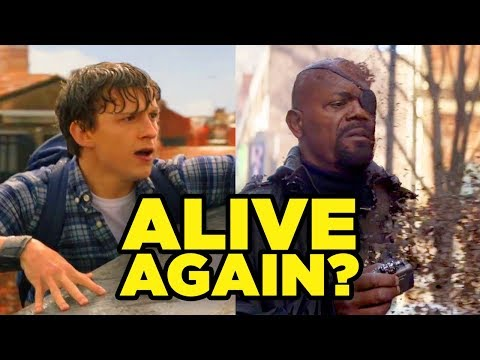 Spider-Man Far From Home - WHO SURVIVES ENDGAME?