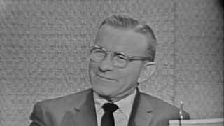 What's My Line? - George Burns; Martin Gabel [panel] (Jun 18, 1961)