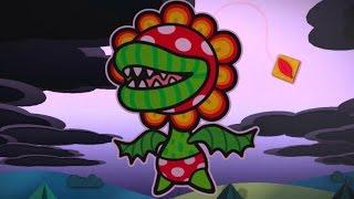 Paper Mario: Color Splash Walkthrough Part 8 - Dark Bloo Inn & Plum Park