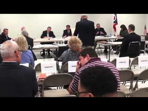 CICCHINELLI PROTEST PROCEEDINGS ON MASSILLON COUNCIL PRESIDENT TONY TOWNSEND FAILURE TO APPEAR IN RE