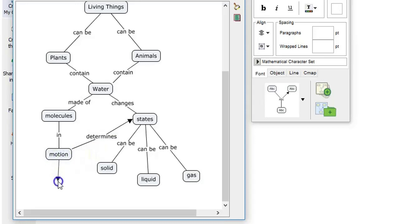 Developing concept map using Cmap tool - YouTube