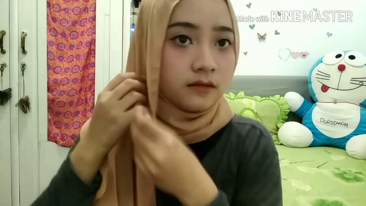 tutorial hijab ala nissa sabyan gambus | indahmtsr - youtube