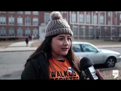 Western International High School Senior Talks Organizing Gun Violence Walkout