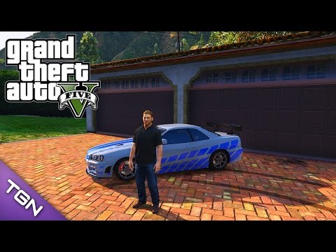 GTA V - Brian O'Conner Paul Walker by JotaPXModz (Download)