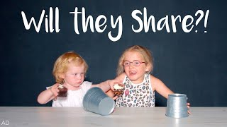 WILL THE SISTERS SHARE?! - HIDDEN CAMERA GAME!