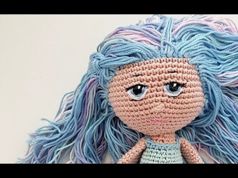 How to Add Hair to Crochet Dolls - All About Ami | 360x480