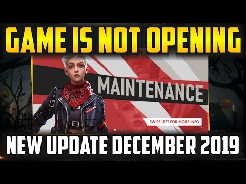 Free Fire All New Update Game Is Not Opening December 2019 - Garena Free Fire