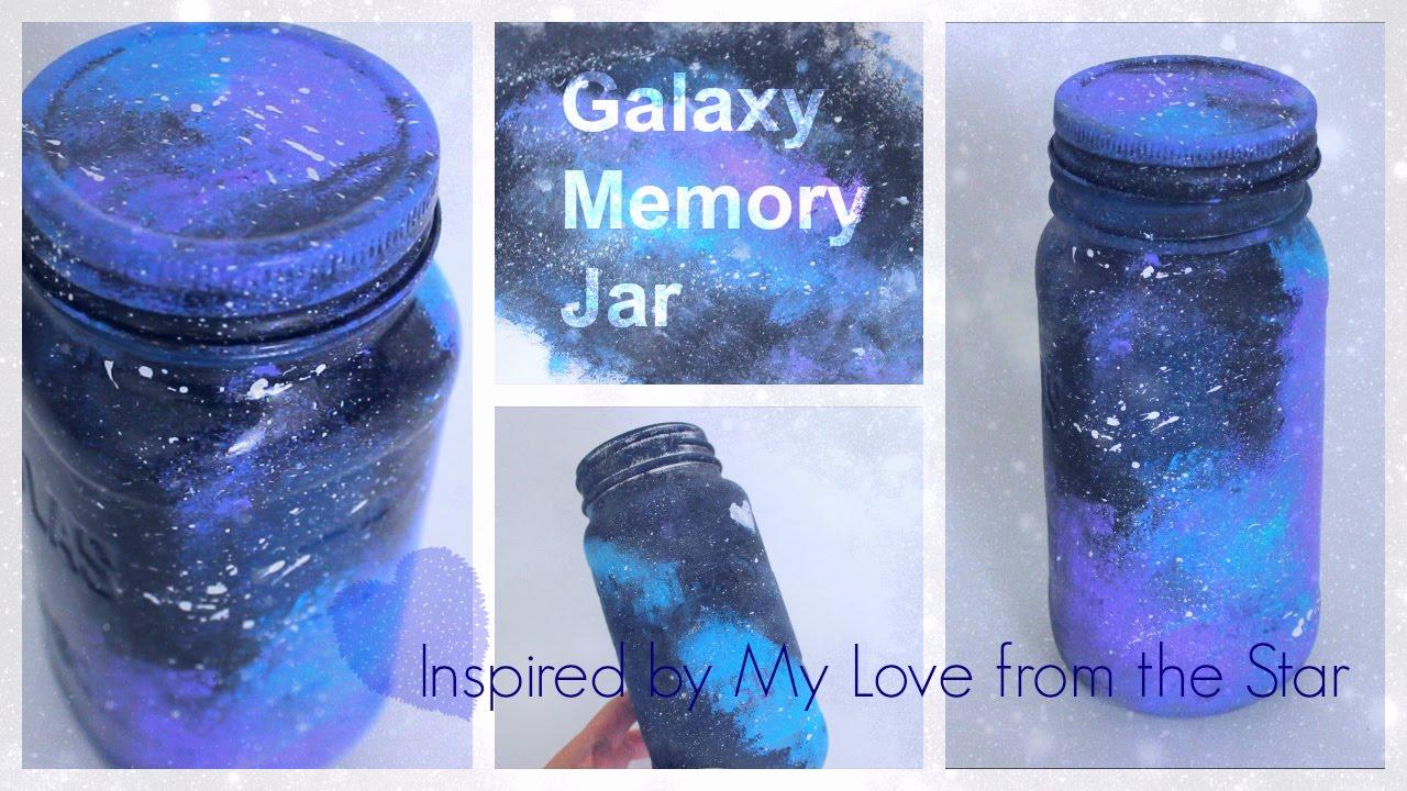 DIY Galaxy Memory Jar Inspired by