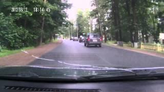 Car Wreck Fail - Guy Blasting Music Wrecks His Car