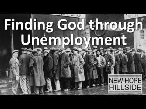 Finding God through Unemployment (or any loss)