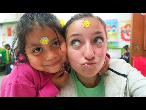 Building Schools in Peru | HEFY Humanitarian Trip | Brooklyn and Bailey