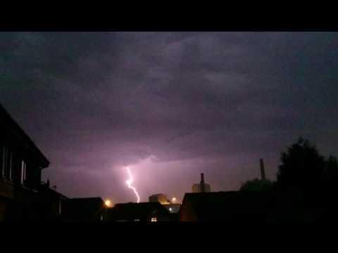 Lightning, st helens merseyside, 13/9/16