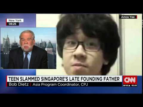 Singapore teen jailed for YouTube rant   The World News Today