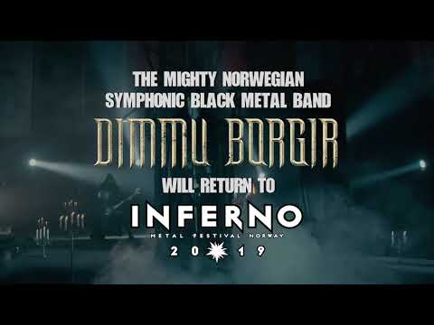 DIMMU BORGIR TO INFERNO METAL FESTIVAL 2019 Mp3