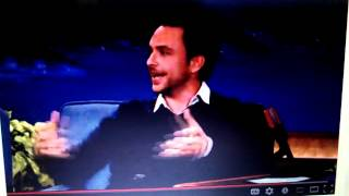 Charlie Day talks to Conan bout rape joke on Frank