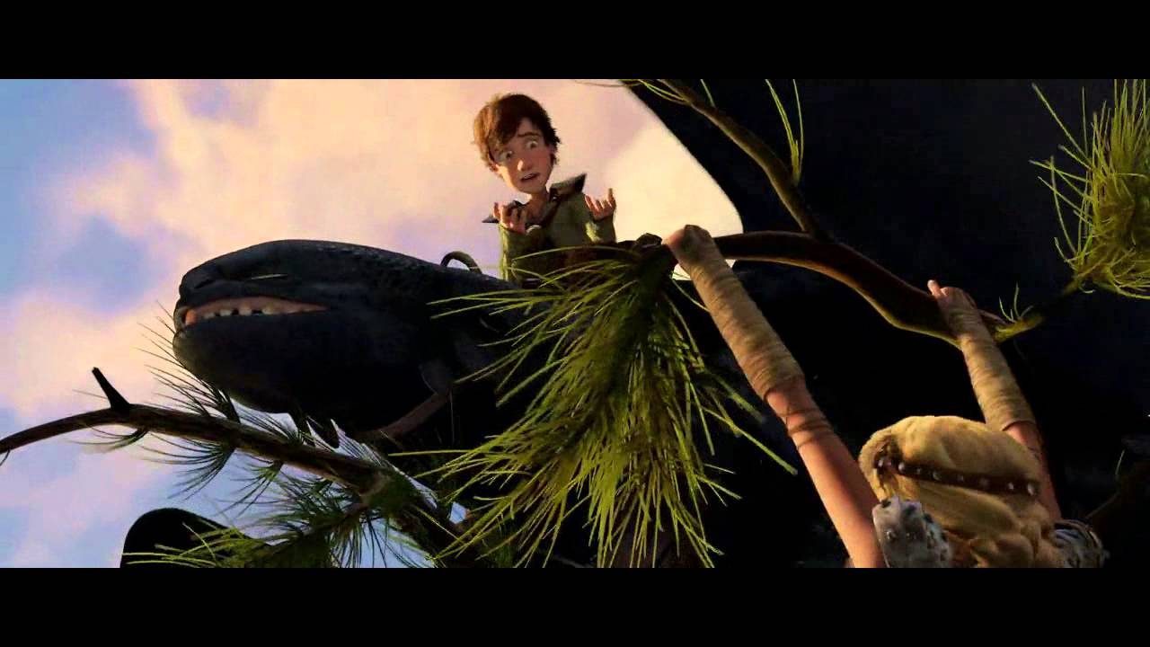 Httyd 1 First Time That Astrid And Toothless Met