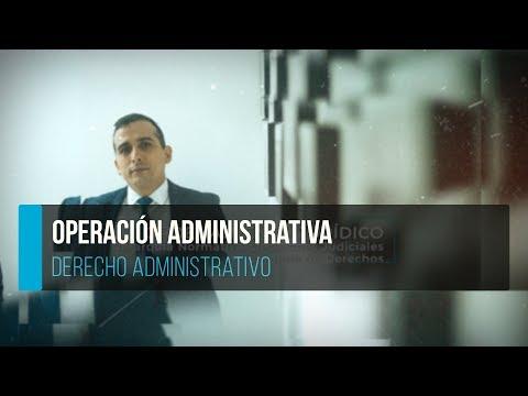 operación-administrativa