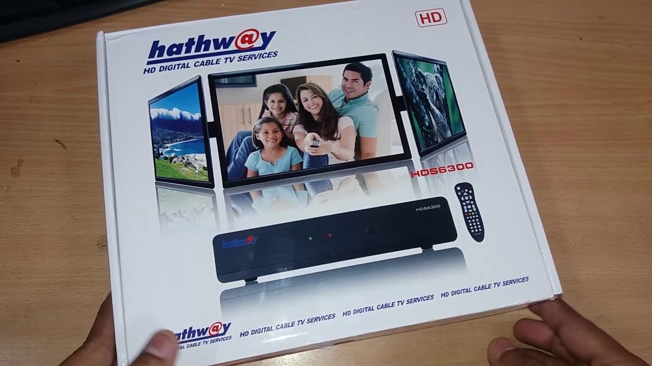 hathw@y HD Setup Box Unboxing & Installation with all details ||Hindi||  (Model No  HDS6300)